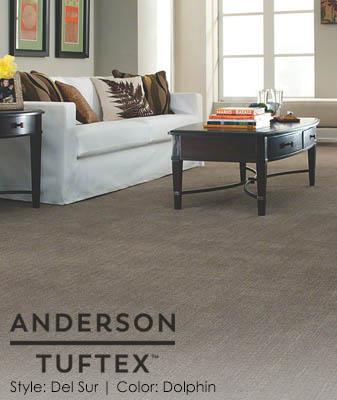 Anderson/Tuftex DelSur Dolphin Living Room Carpet Roomscene